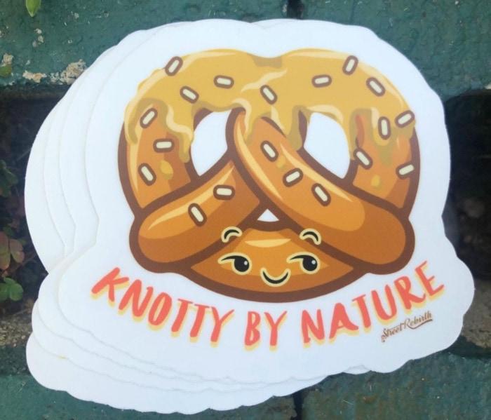 Pretzel Puns - Knotty By Nature