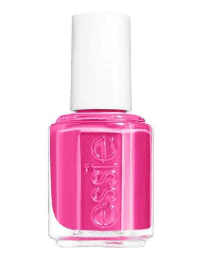 Summer Nail Colors - Essie The Fuschia is Bright Polish