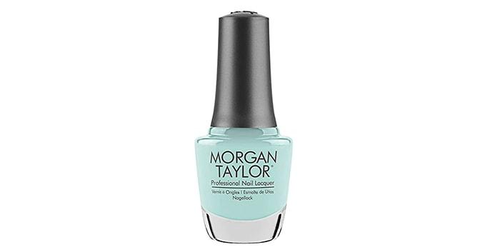 Summer Nail Colors - Morgan Taylor Sea Foam Polish