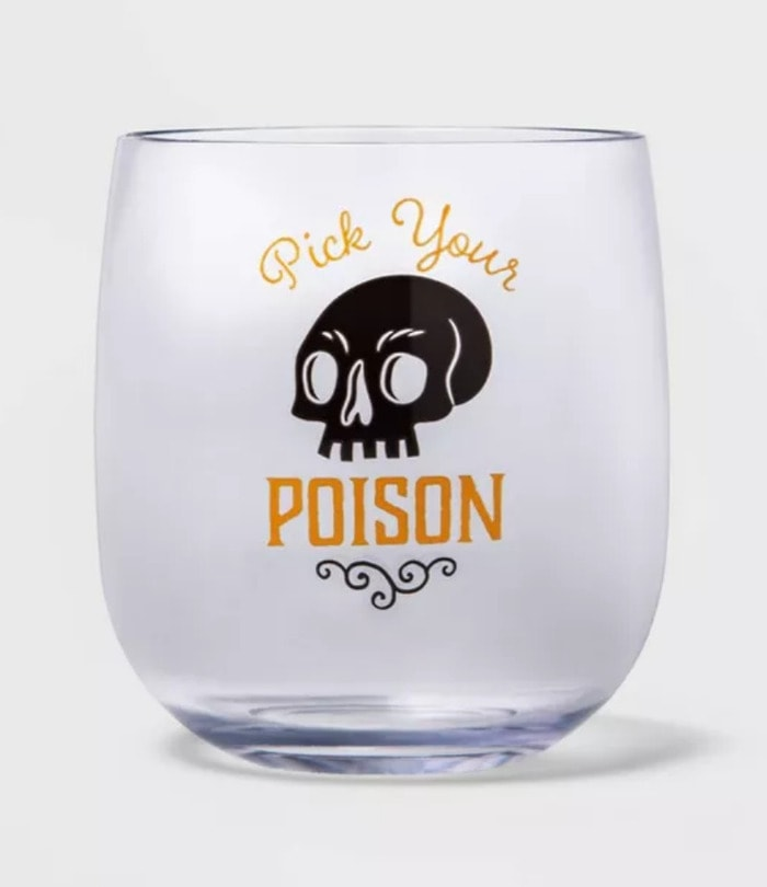 Target Hyde & EEK! Boutique 2020 - Pick Your Poison Stemless Glass