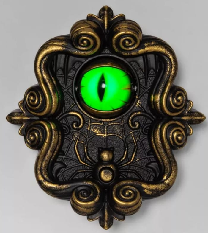 Target Hyde & EEK! Boutique 2020 - Doorbell with Illuminated Dragon Eye