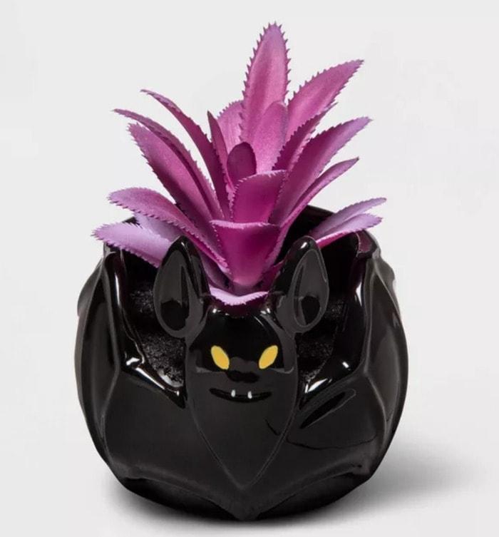 Target Hyde & EEK! Boutique 2020 - Bat Faux Succulent Planter
