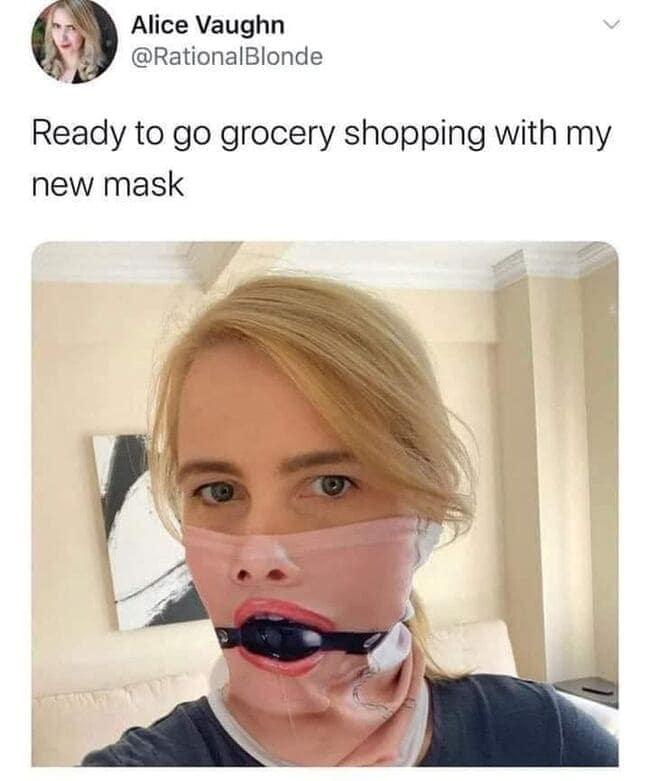 Funny Tweets - Mask
