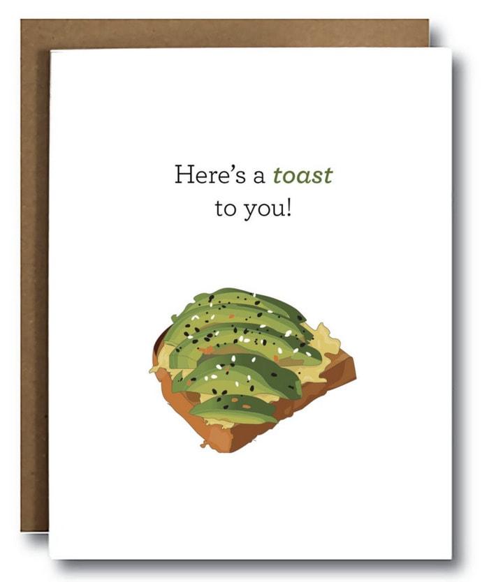 Avocado Puns - Toast