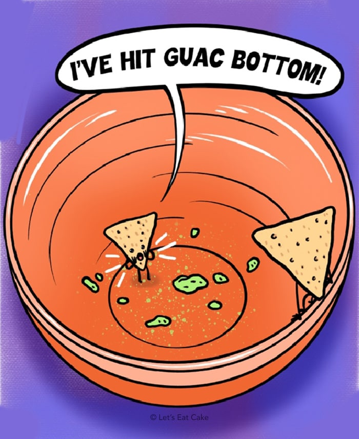 Avocado Puns - Guac Bottom