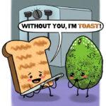 Avocado Toast Illustration