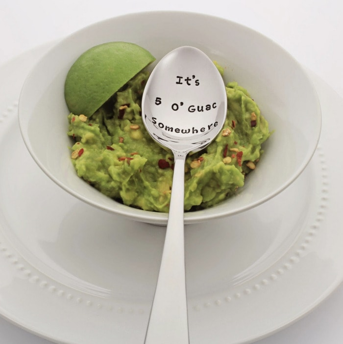 Guac and Spoon