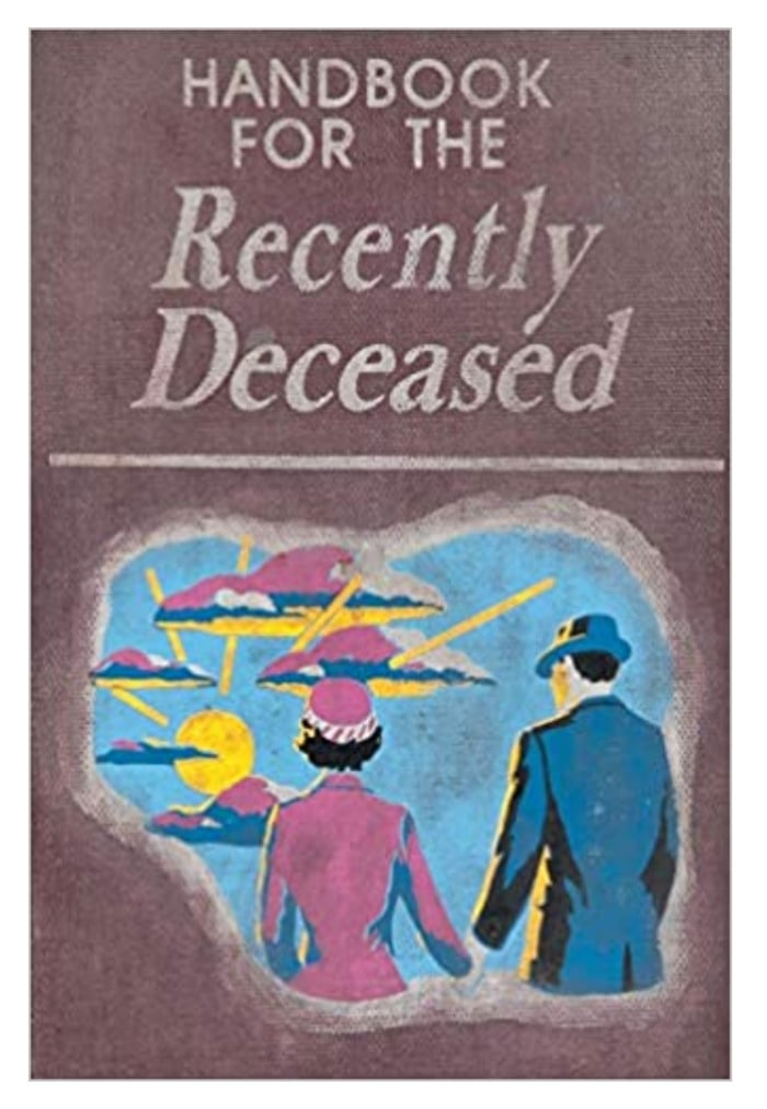 Beetlejuice Decor - Recently Deceased Handbook