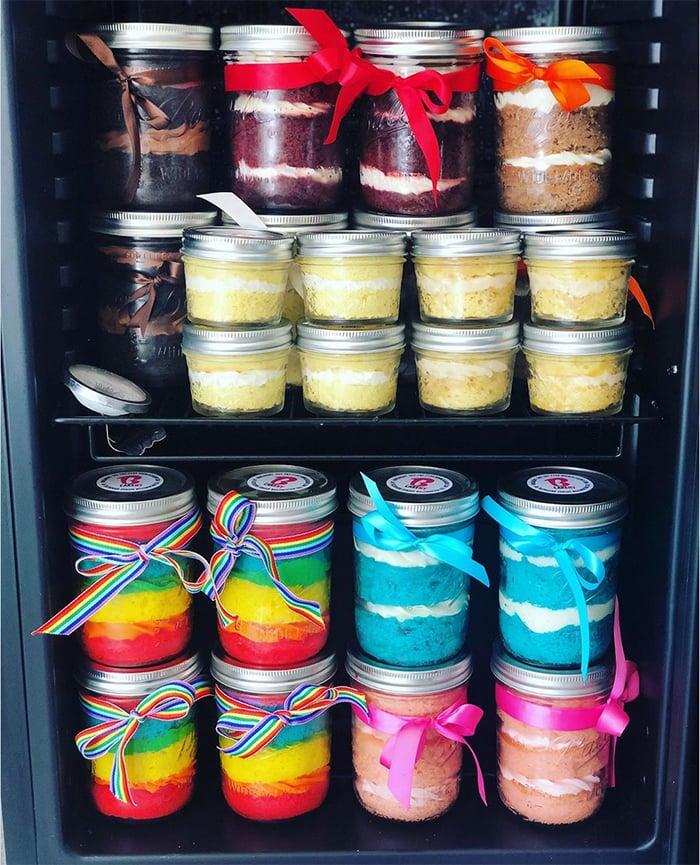 Black-Owned Bakeries - BCakeNY's Cake Jars