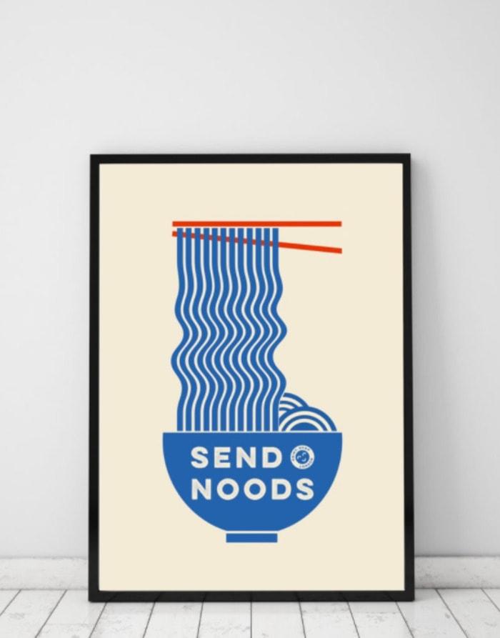 Food Puns - Send Noods