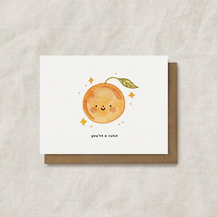 Food Puns - Clementine Orange