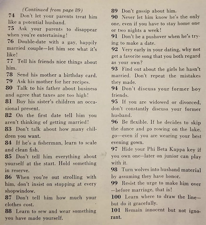 How to Find a Husband - 129 Ways