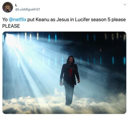 Lucifer - Keanu