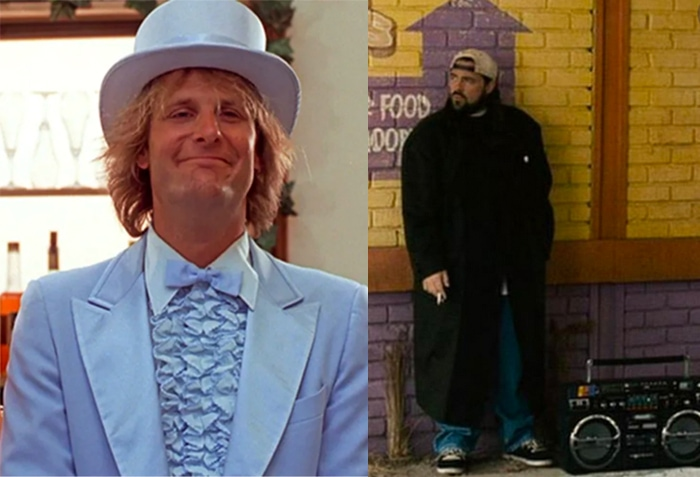 Paul Rudd Bat Mitzvah DJ - Harry's Tux from Dumb and Dumber and Silent Bob