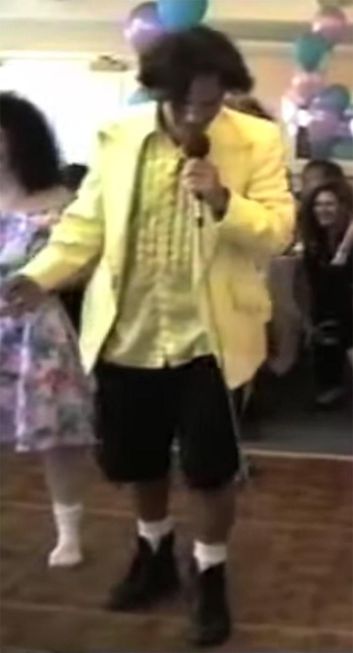 Paul Rudd DJ - Canary Yellow Tux and Shorts