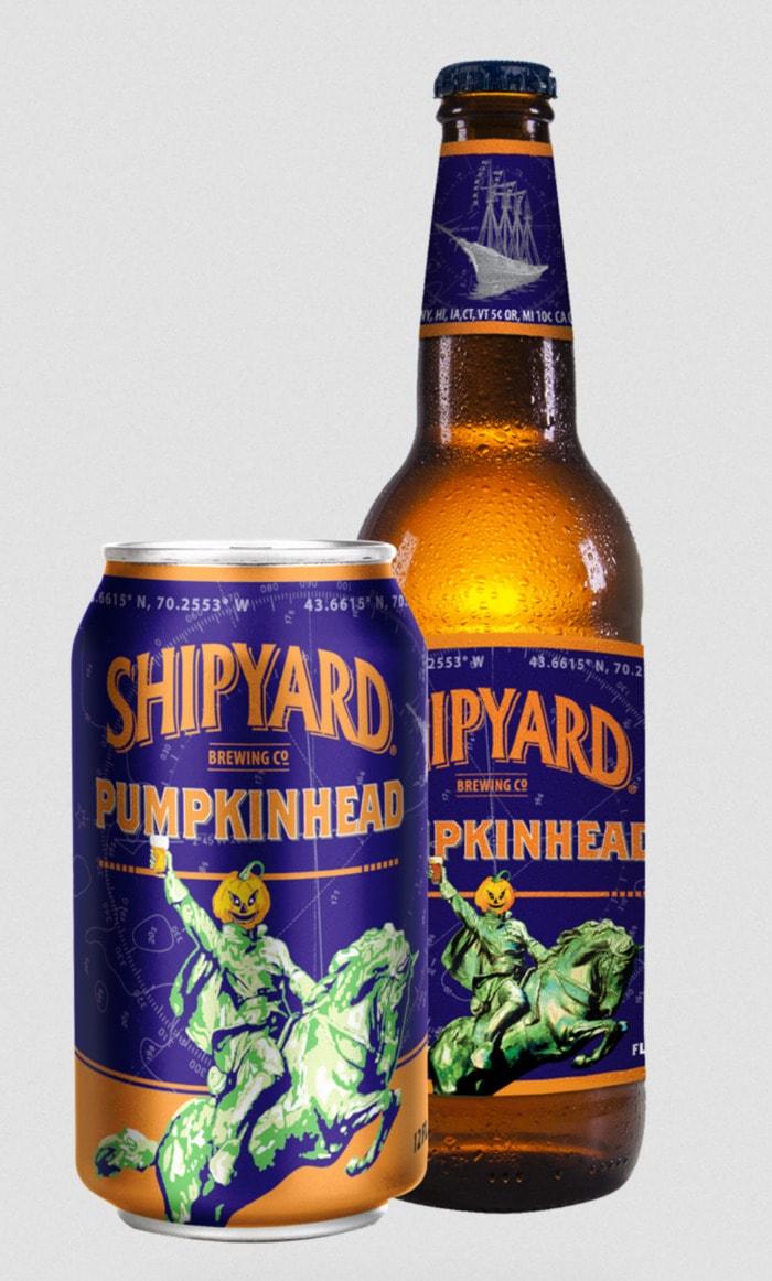 Pumpkin Beers - Shipyard Pumpkinhead