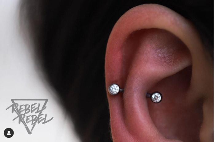 Types of Ear Piercings - auricle