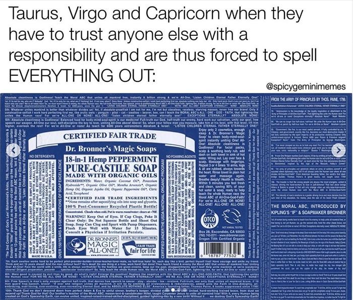 Virgo Memes - overcomplicated