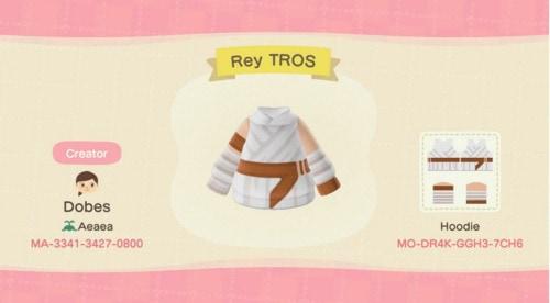 Halloween Costumes Animal Crossing - Star Wars Rey Skywalker