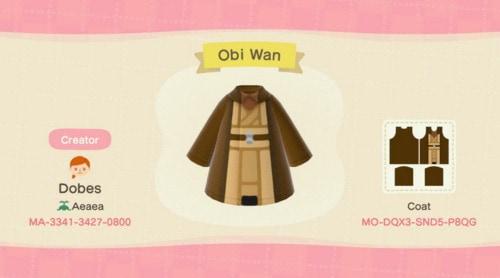 Halloween Costumes Animal Crossing - Star Wars Obi Wan Kenobi