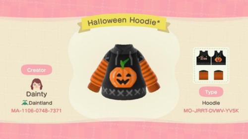 Halloween Ideas Animal Crossing - Pumpkin Hoodie