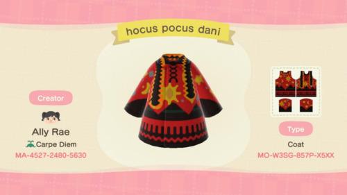 Halloween Costumes Animal Crossing - Hocus Pocus Dani