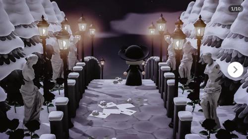 Halloween Inspiration Animal Crossing - Path