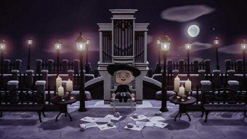 Halloween Inspiration Animal Crossing - Phantom