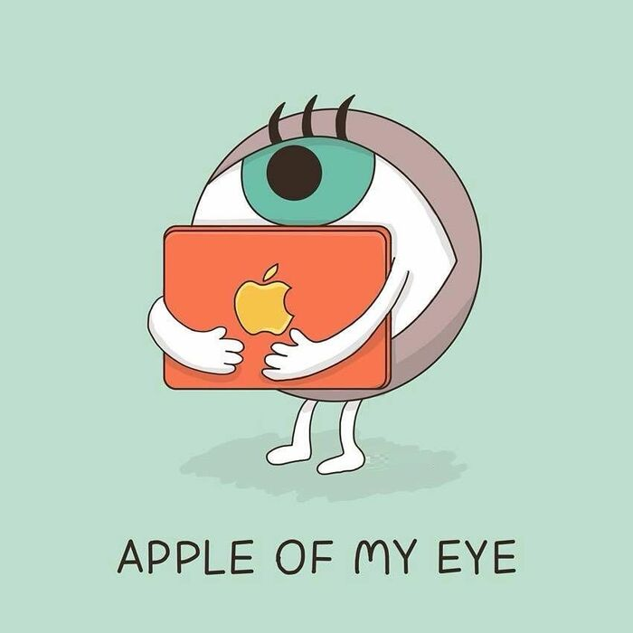 Apple Puns Apple Of My Eye