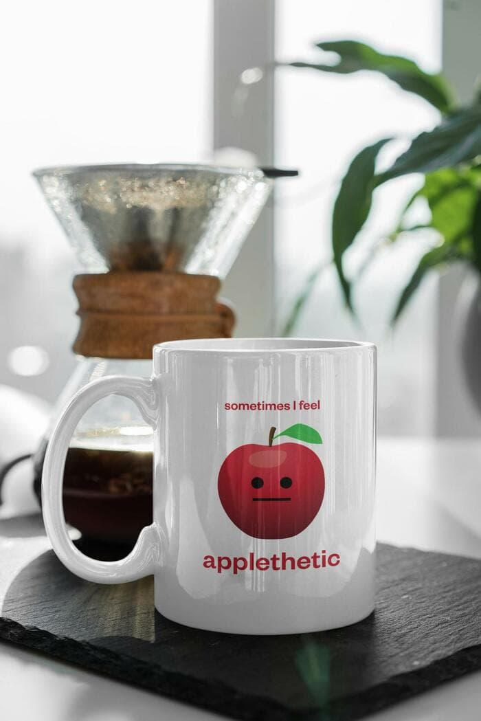 Apple Puns - Applethetic