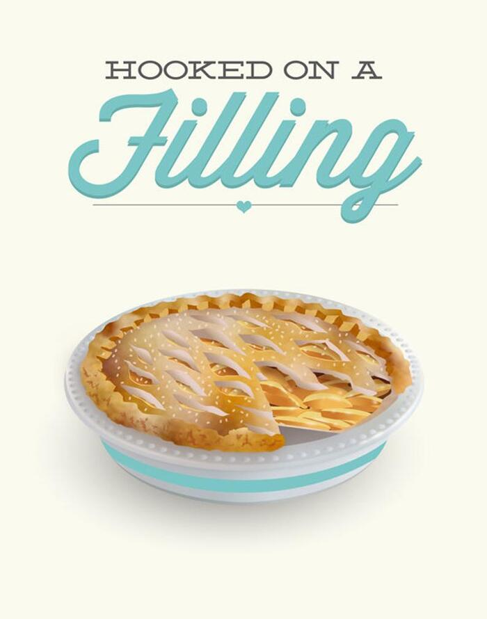 Apple Puns - Hooked on a Filling
