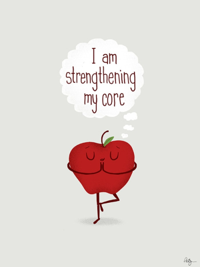 Apple Puns - Strengthening My Core