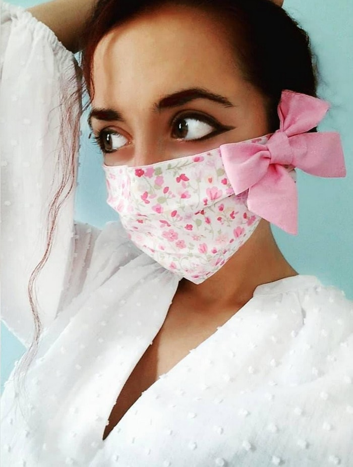 Cool Face Masks - Bow