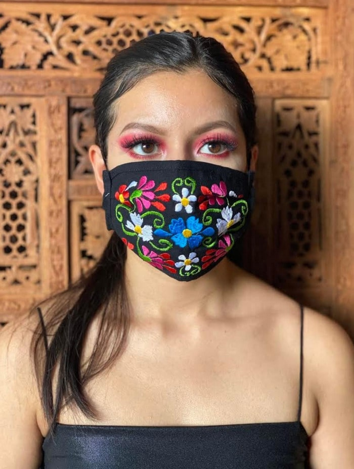 Cool Face Masks - Flowers