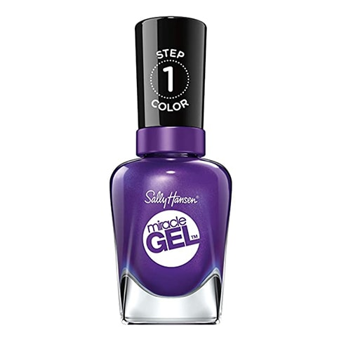 Fall Nail Colors - Sally Hansen Purplexed