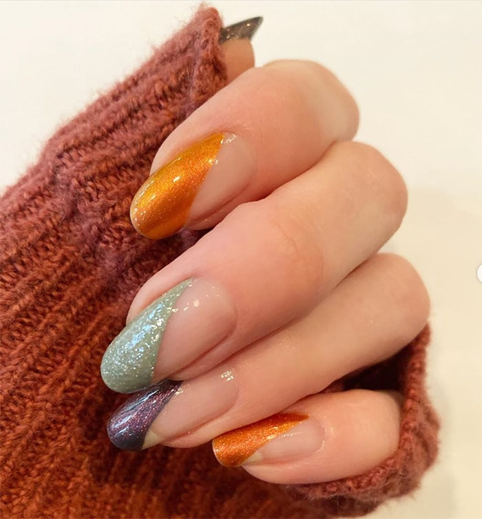 Fall Nails - Geometric