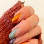 Fall Nails Pin