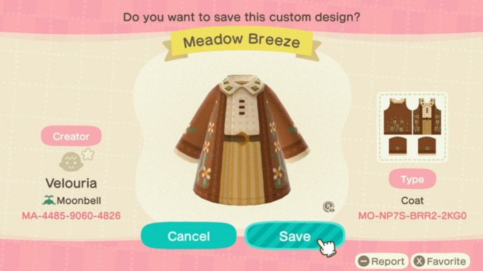 Fall Outfits Animal Crossing - Fall Sweaterl
