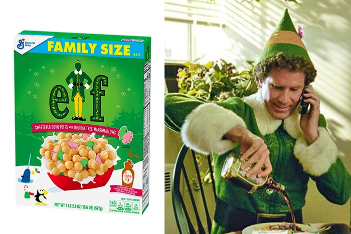General Mills Elf Cereal