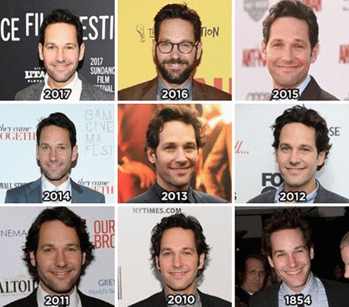 Paul Rudd Memes - time travel