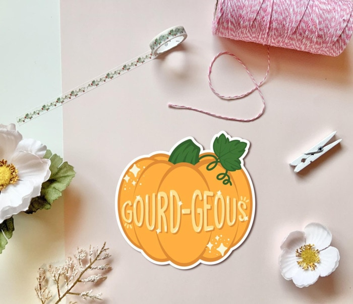 Pumpkin Puns - gourd-geous