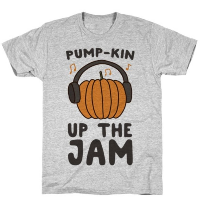 Pumpkin Puns - pump up the jam