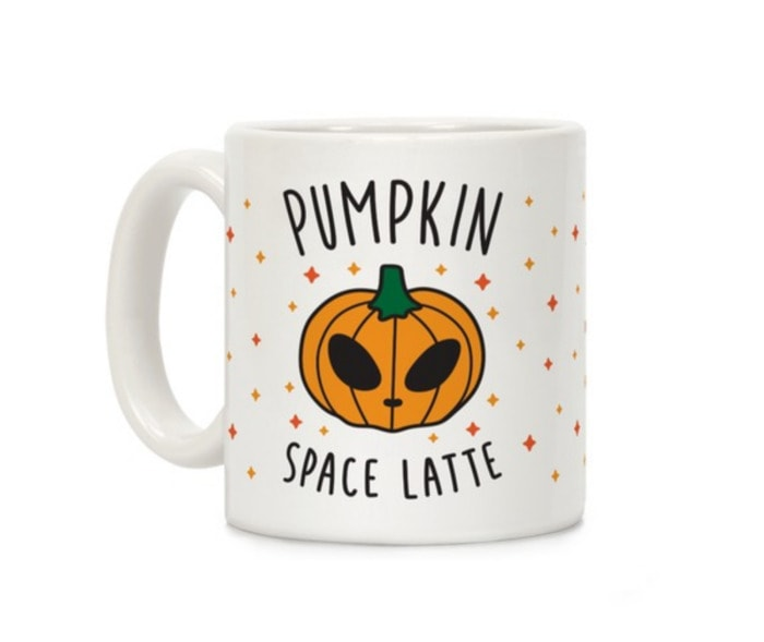 Pumpkin Puns - Space Latte