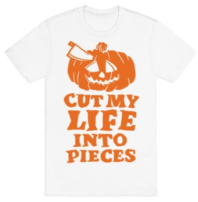 Pumpkin Puns - cut my life into pieces