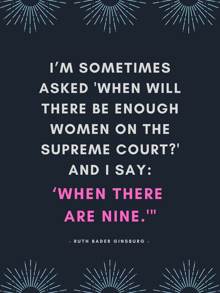 Ruth Bader Ginsburg Quotes - I'm sometimes asked when will there be enough women on the surpreme court and aI say whenRuth Bader Ginsburg Quotes - I'm sometimes asked when will there be enough women on the supreme court and I say when there are nine there are nine