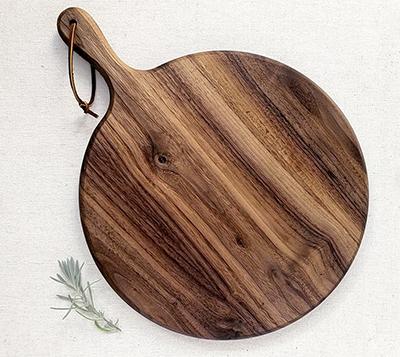 Smores Dessert Boards - black walnut platter