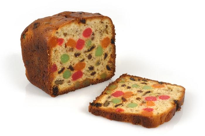 Types of Cake - Fruitcake