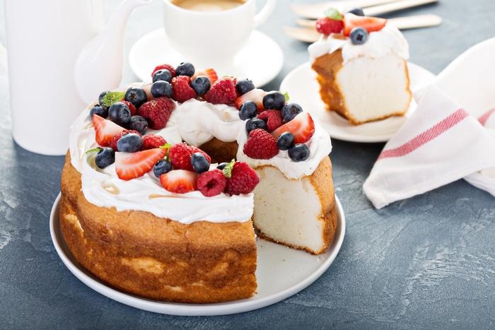 Types of Cake - Angel Food