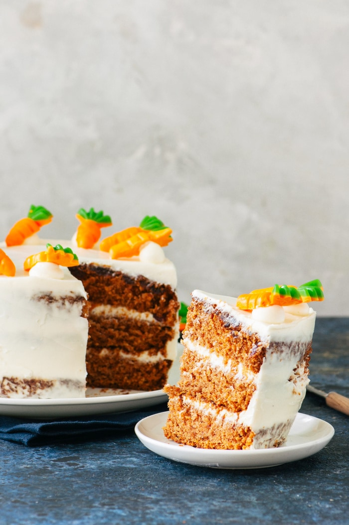 Types of Cake - Carrot