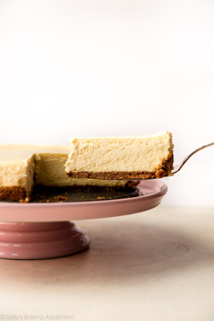 Types of Cake - Cheesecake